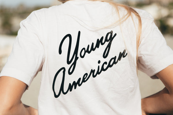- Young American Tee - REDWOLF