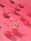 Jewelry - Cherries Necklace - REDWOLF