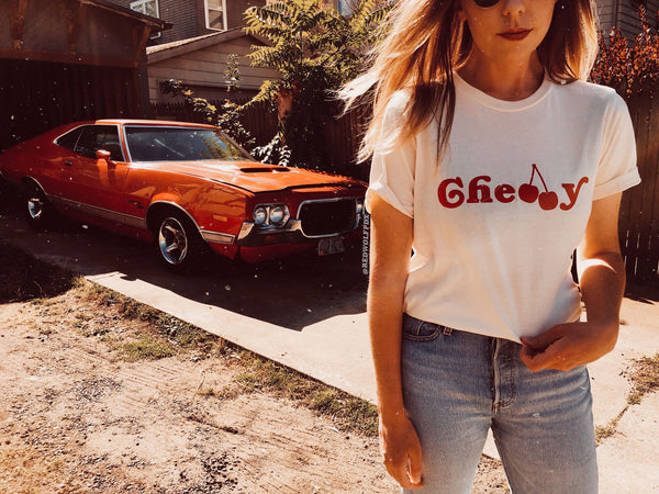 - Cherry Tee - REDWOLF
