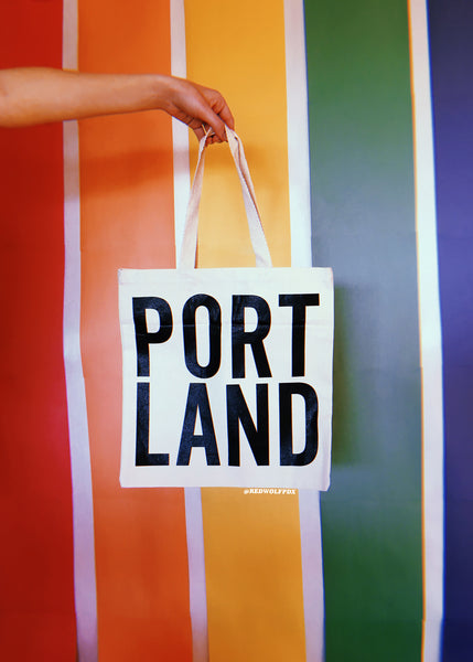 Bags - Portland Tote Bag - REDWOLF