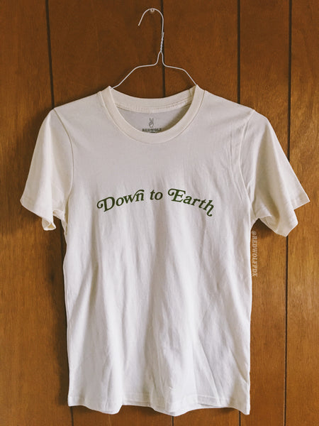 T-Shirts - DOWN TO EARTH TEE - REDWOLF