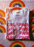 - Girl Power Glitter Tee - REDWOLF
