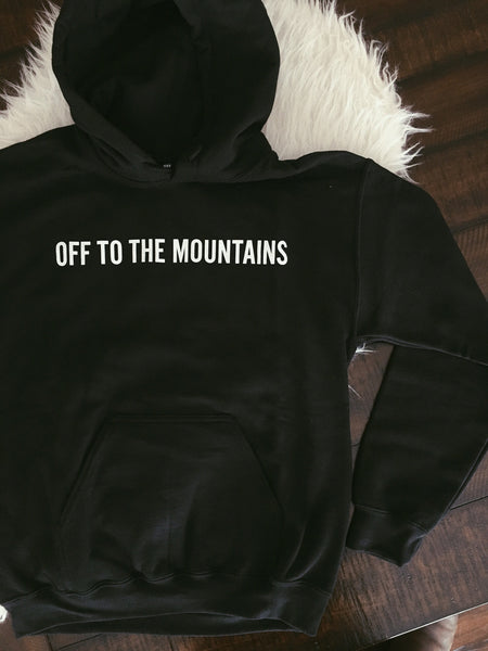 Off to the Mountains Sweatshirt