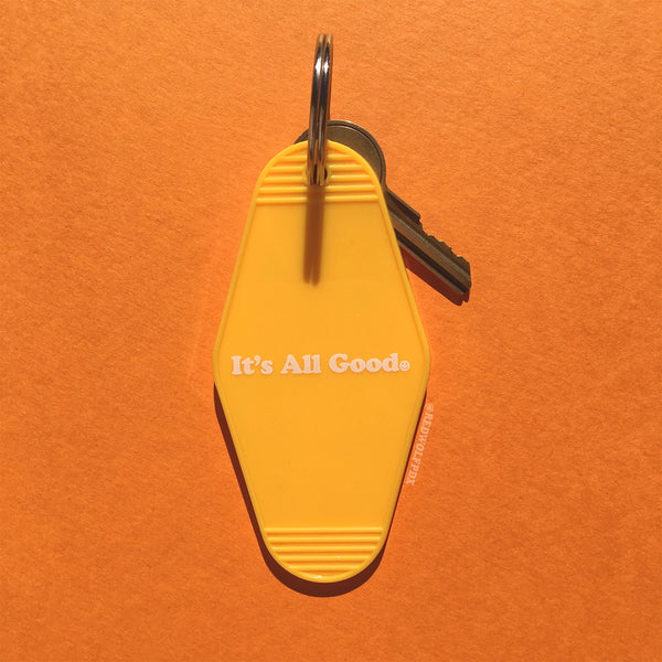 IT'S ALL GOOD :) KEYCHAIN