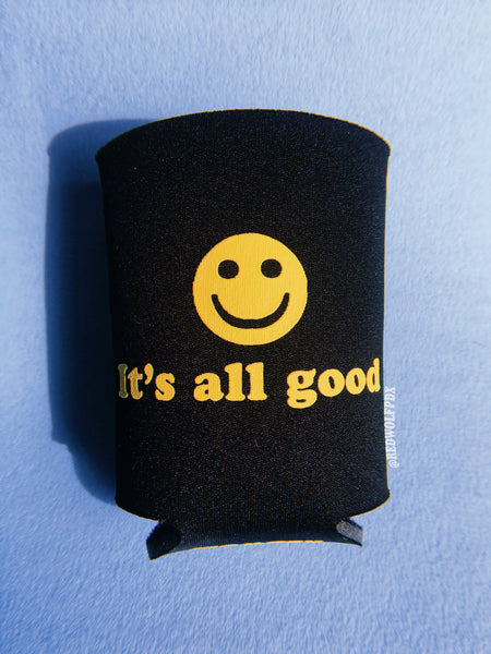 - IT'S ALL GOOD :) KOOZIE - REDWOLF