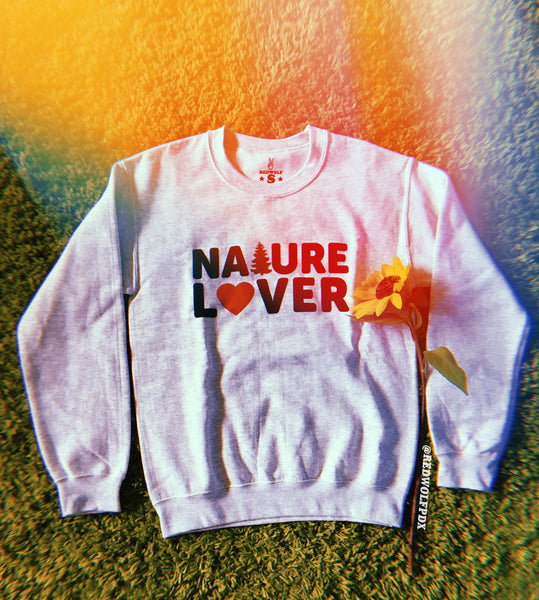 sweatshirt - Nature Lover Sweatshirt - REDWOLF