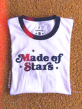 T-Shirts - Made of Stars Ringer Tee - REDWOLF