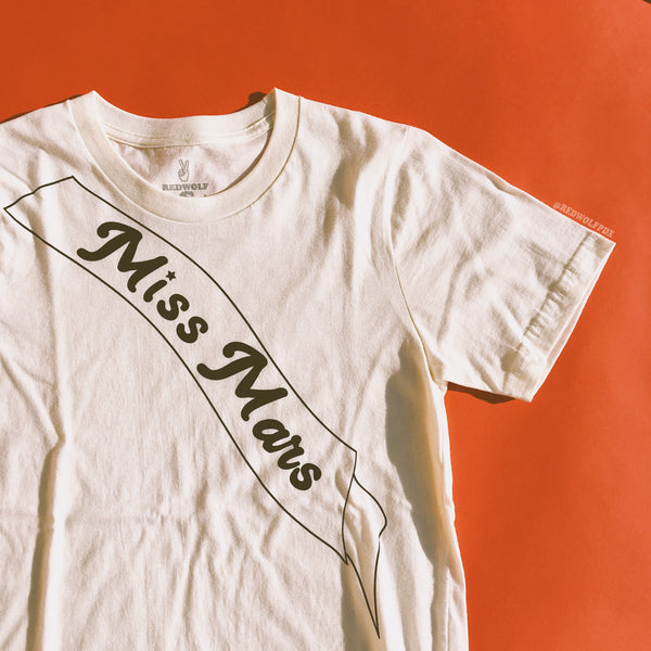 - Miss Mars Tee - REDWOLF