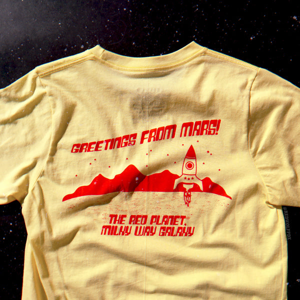 - Mars Tourist Tee - REDWOLF