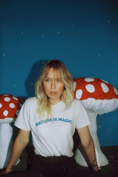 - Nature is Magic Tee - REDWOLF