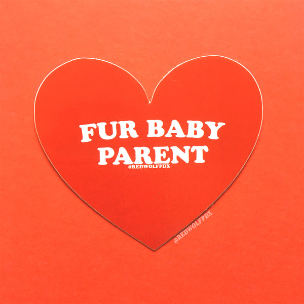 Fur Baby Parent Sticker