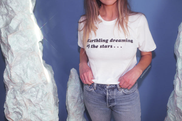 T-Shirts - Earthling Dreaming Tee - REDWOLF