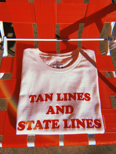 Tan Lines and State Lines Tee