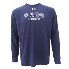 Mens UA Sup Dogs Long Sleeve - Navy