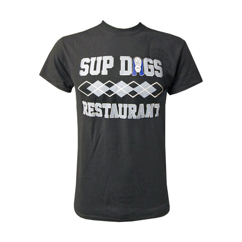 Unisex Sup Dogs Argyle - Black