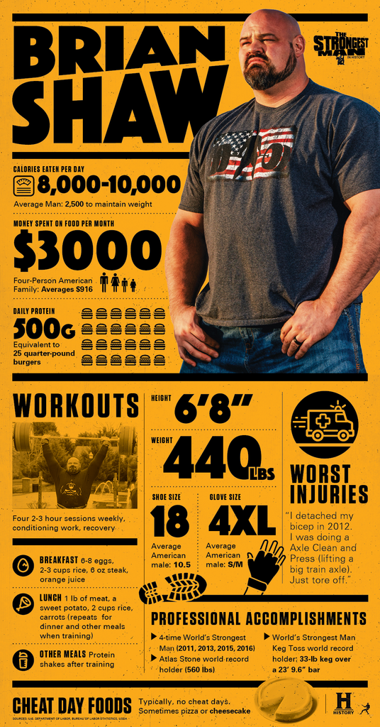 A Brief Biography Of Strongman Brian Shaw
