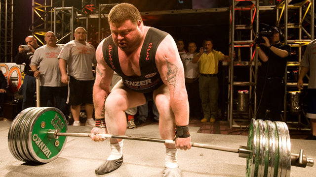 Getting To Know A Legend - Strongman Andy Bolton