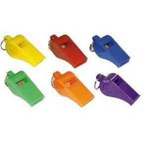 Colored Official's Whistles
