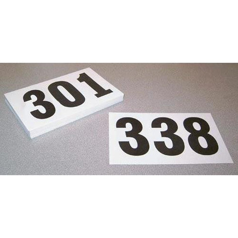 Competitors' Numbers with Tear Tags