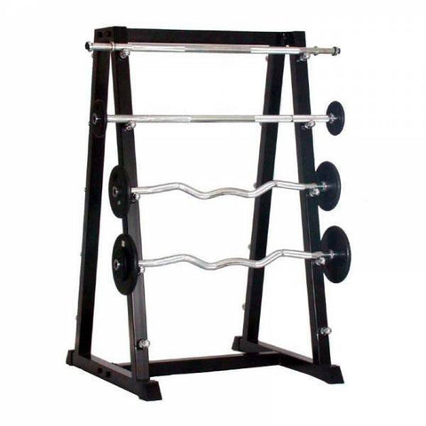 10 Bar EZ Curl Barbell Rack - Ader Fitness - Ohio Fitness Garage - Ader Fitness -Racks Equipment