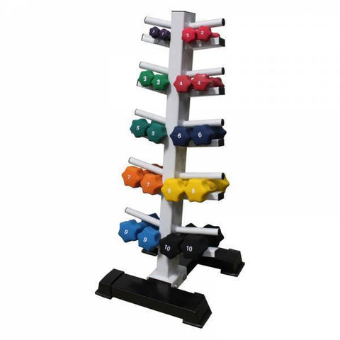 10 Pair Dumbbell Rack - Ader Fitness - Ohio Fitness Garage - Ader Fitness -Racks Equipment