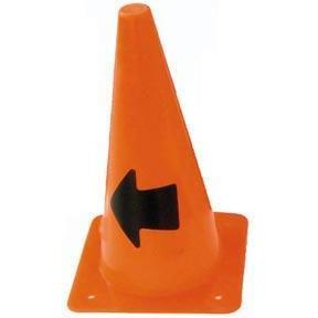 "12"" Arrow Cone (Left Arrow) - Ohio Fitness Garage - Olympia -Arrow Cones Equipment"