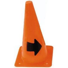 "12"" Arrow Cone (Right Arrow) - Ohio Fitness Garage - Olympia -Arrow Cones Equipment"