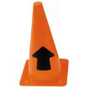"12"" Arrow Cone (Straight Arrow) - Ohio Fitness Garage - Olympia -Arrow Cones Equipment"