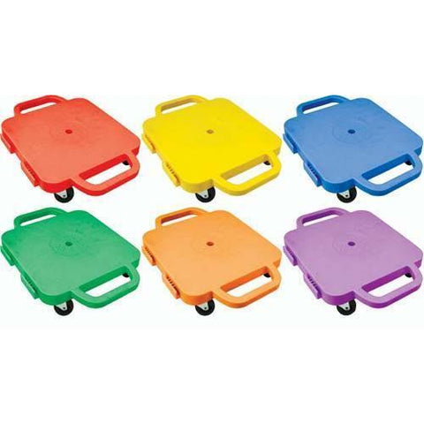 "12"" Curved-Handle Connect-A-Scooters - Set of 6 - Ohio Fitness Garage - Olympia -Curved-Handle Connect-A-Scooter"" Sets Equipment"