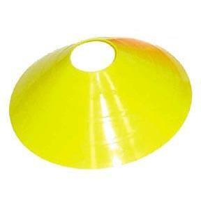 "12"" Half Cone - Yellow - Ohio Fitness Garage - Olympia -Half Cones & Carriers Equipment"