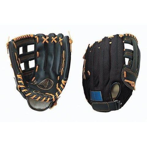 "12"" Leather/Nylon Mesh Glove - Right Handed - Ohio Fitness Garage - Olympia -Gloves, Baseball/Softball Equipment"