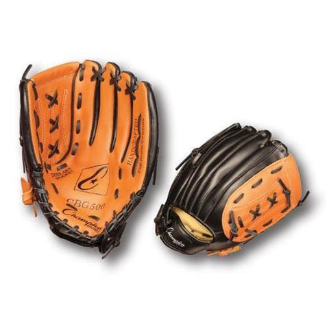 "12"" Leather/Synthetic Glove - Right Handed - Ohio Fitness Garage - Olympia -Gloves, Baseball/Softball Equipment"