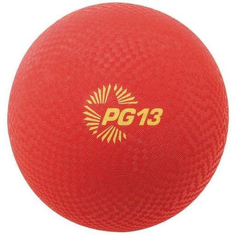 "13"" PG Playground Kickballs - Red - Ohio Fitness Garage - Olympia -PG Playground Kickballs Equipment"