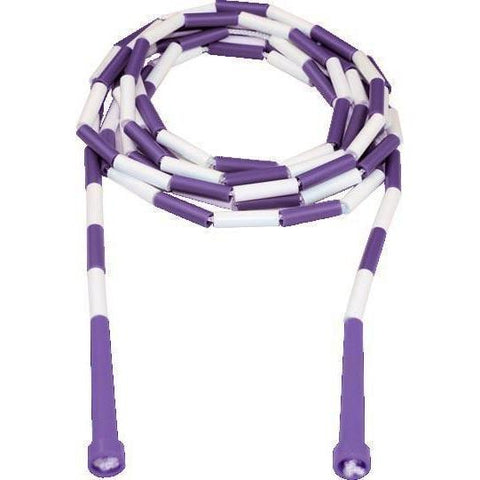 14' Kanga Deluxe Beaded Ropes - Purple Handle - Ohio Fitness Garage - Olympia -Kanga Ropes Equipment