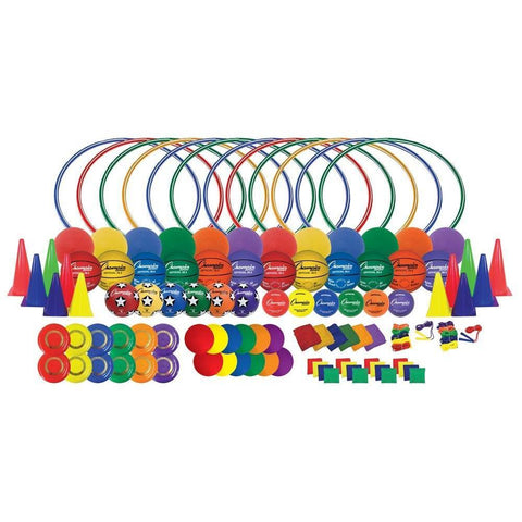 150 (kit) School Playground Activity Package With Games, Balls, Ropes, and Cones - Ohio Fitness Garage - Olympia -Activity Kits Equipment