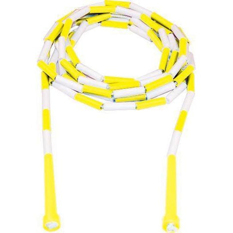 16' Kanga Deluxe Beaded Ropes - Yellow Handle - Ohio Fitness Garage - Olympia -Kanga Ropes Equipment