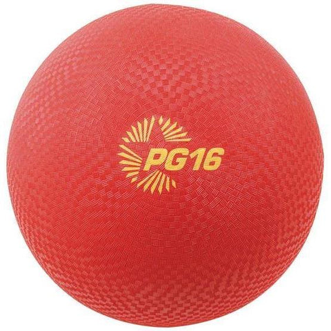 "16"" PG Playground Kickballs - Red"
