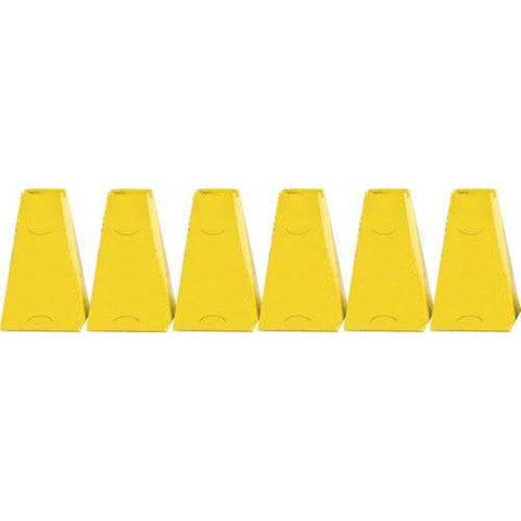 "16"" Pyramid Cones (Set of 6) - Yellow"