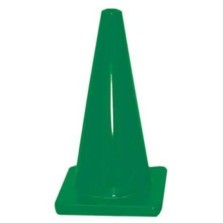 "18"" Traffic Cone - Green - Ohio Fitness Garage - Olympia -Colored Flexible & Heavyweight Cones Equipment"