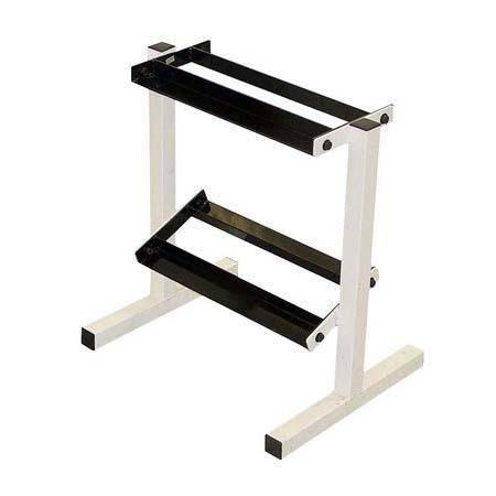 2 Tier 17″ Dumbbell Rack - Ader Fitness