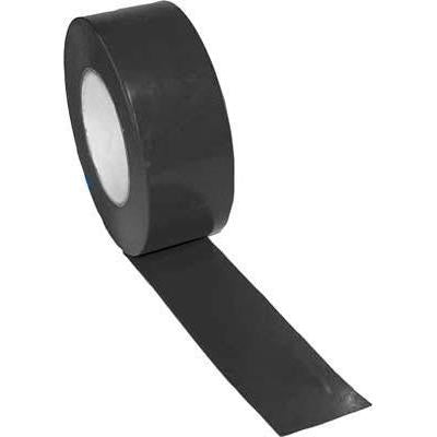 "2"" x 60 Yards Vinyl Tape - Black - Ohio Fitness Garage - Olympia -Floor Marking Tape/Layers Equipment"