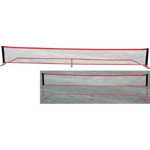 "20' Wide x 61""H Port-A-Net - Ohio Fitness Garage - Olympia -Portable Tennis Net Systems Equipment"