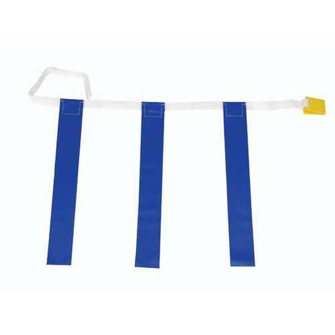 "25""-31"" Three-Flag Belts - Blue - Ohio Fitness Garage - Olympia -Three-Flag ""Belt Release"" Sets Equipment"