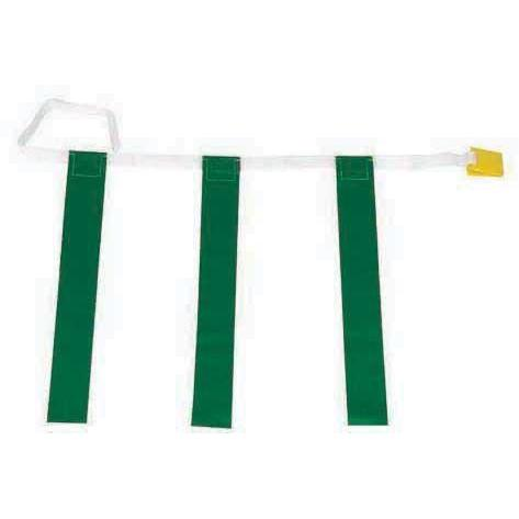 "25""-31"" Three-Flag Belts - Green - Ohio Fitness Garage - Olympia -Three-Flag ""Belt Release"" Sets Equipment"