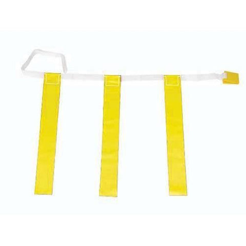 "25""-31"" Three-Flag Belts - Yellow - Ohio Fitness Garage - Olympia -Three-Flag ""Belt Release"" Sets Equipment"