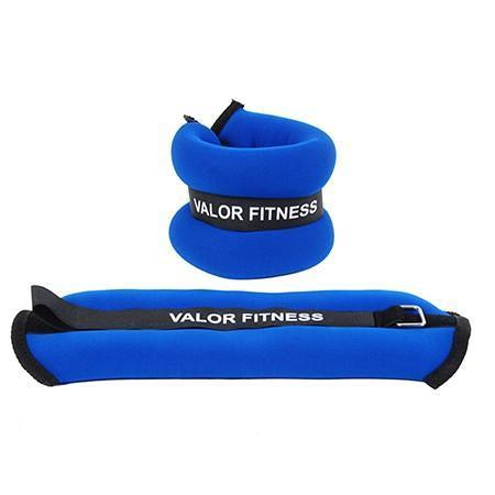 2lb Ankle / Wrist Weight Pair - Valor Fitness - Ohio Fitness Garage - Valor Fitness - Equipment