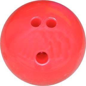 3 lb. Bowling Ball - Red - Ohio Fitness Garage - Olympia -Bowling Balls Equipment