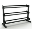 3 Tier Dumbbell Rack - Strencor - Ohio Fitness Garage - Strencor -sports Equipment