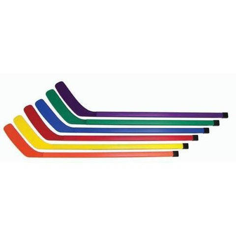 "36"" rainbow Hockey Sticks (set of 6) - Ohio Fitness Garage - Olympia -Cosom 36"" Colored Hockey Sets Equipment"