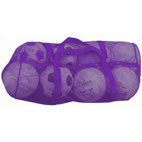 "36"" x 15"" Zippered Mesh Bag - Purple - Ohio Fitness Garage - Olympia -Mesh Bags Equipment"